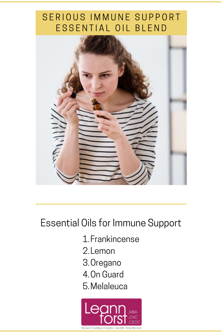 Immune Support Essential Oil Blend | LeannForst.com