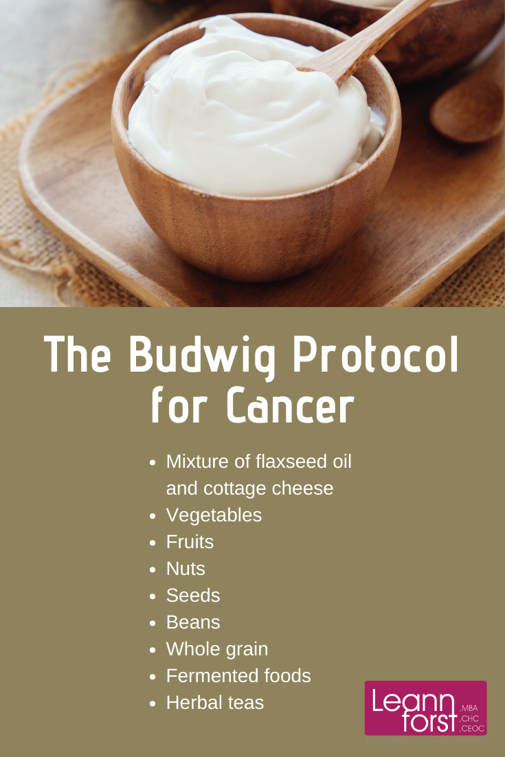 The Budwig Protocol for Cancer | Leann Forst