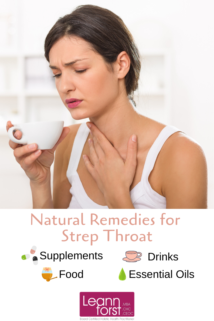 Natural Remedies for Strep Throat | LeannForst.com