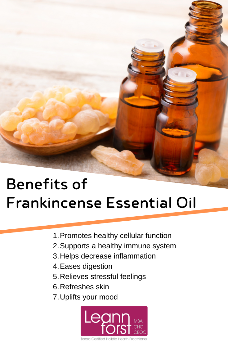 Benefits of Frankincense Essential Oil | LeannForst.com