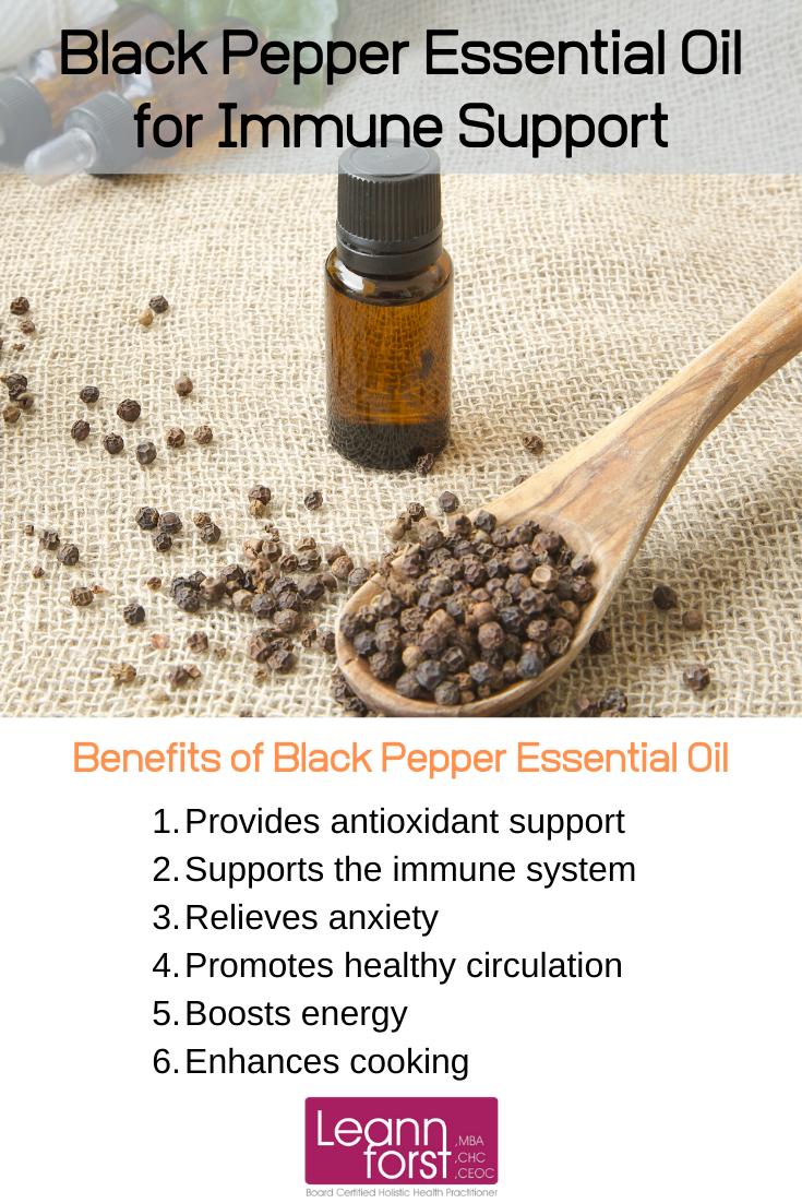 Benefits of Black Pepper Essential Oil | LeannForst.com