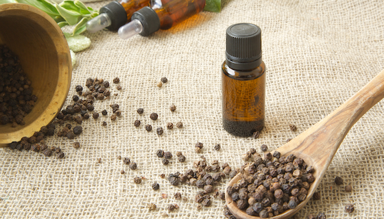 Black Pepper Essential Oil for Immune Support