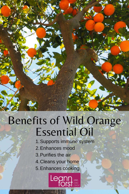 Wild Orange Essential Oil | LeannForst.com