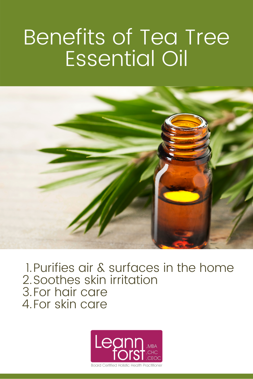Benefits of Tea Tree Essential Oil | LeannForst.com