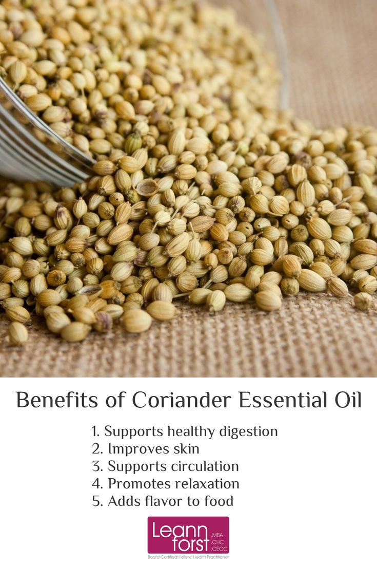 Coriander Essential Oil | LeannForst.com