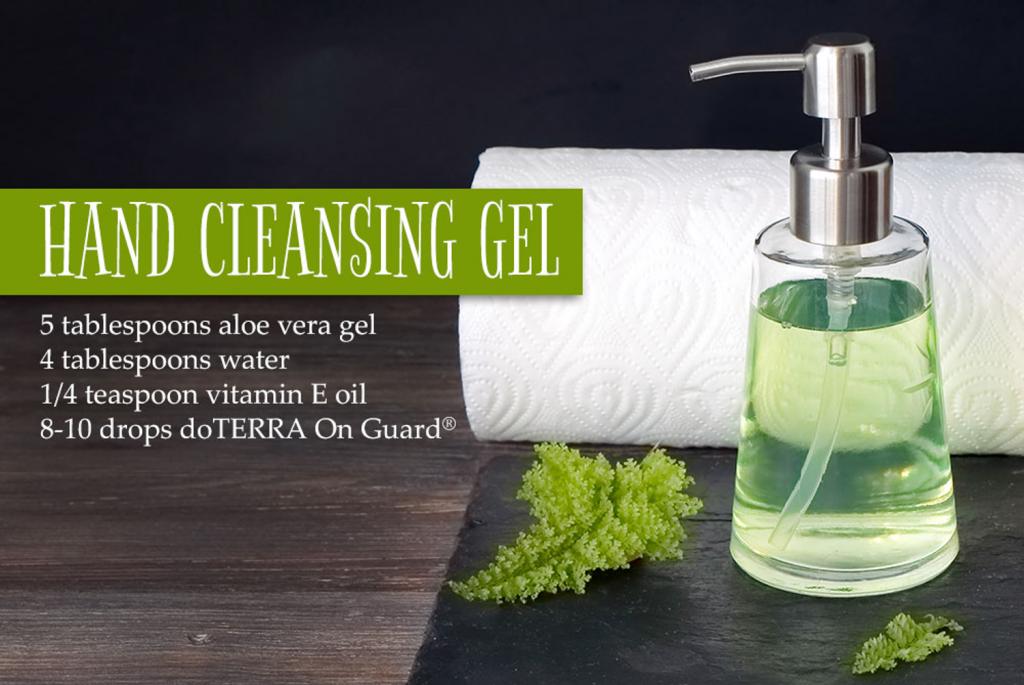 Hand Cleansing Gel | LeannForst.com