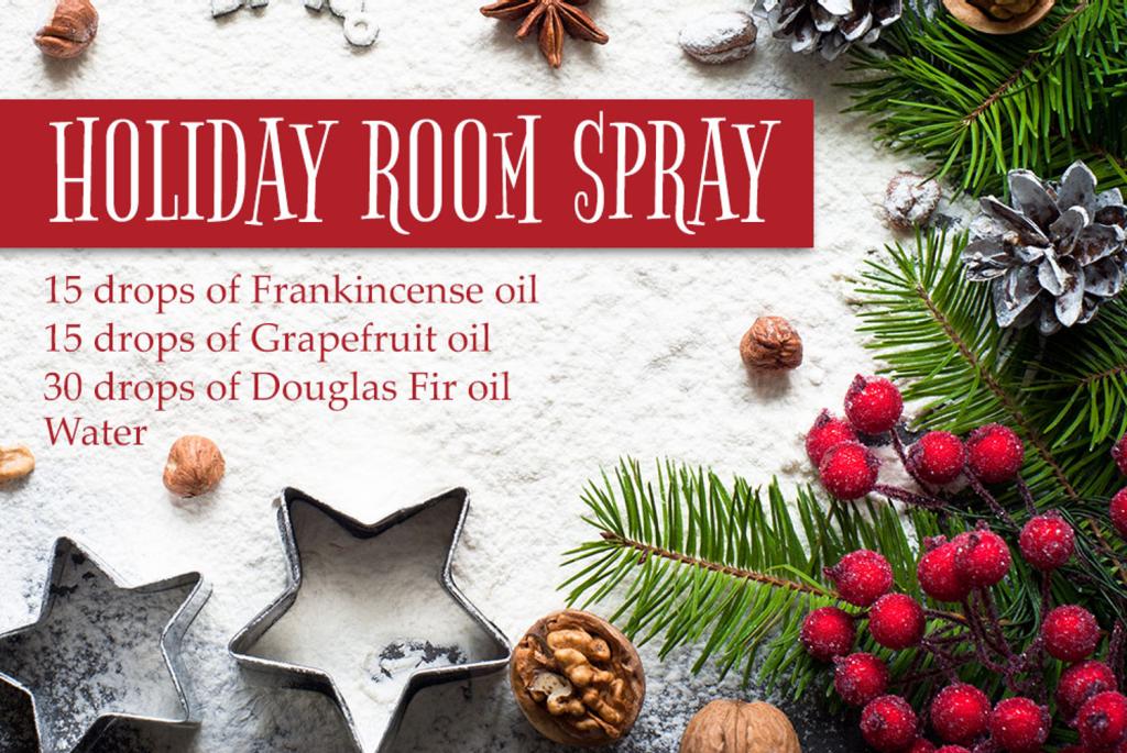 Holiday Room Spray | LeannForst.com